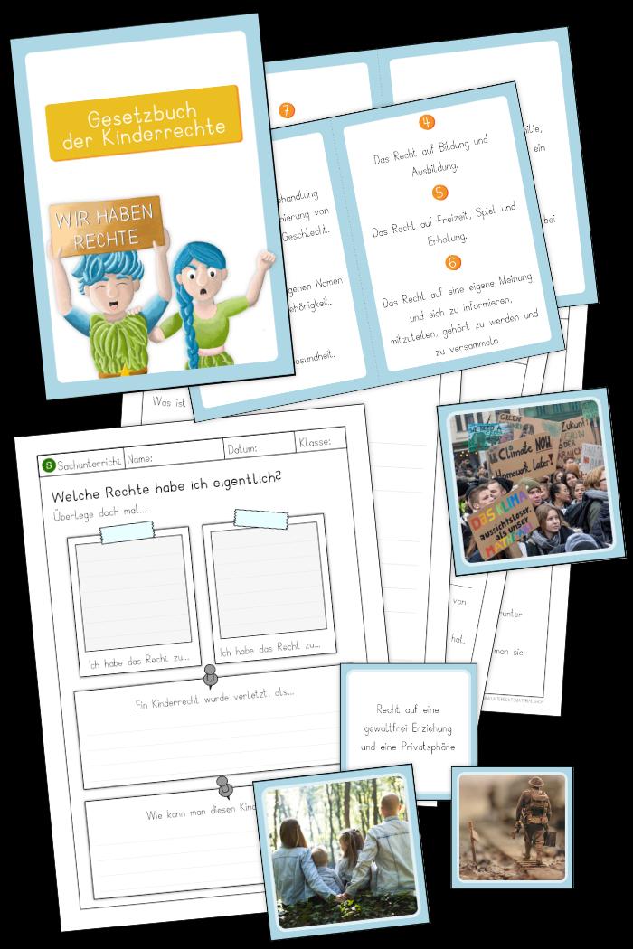 Kinderrechte Unterrichtsmaterial