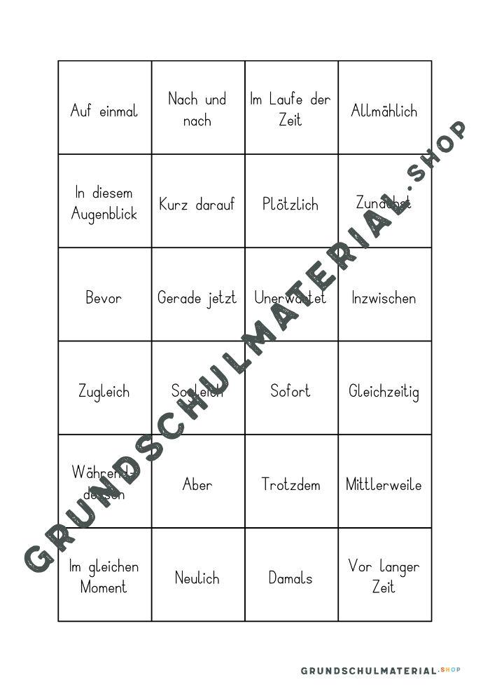 Satzanfänge Grundschule 4. Klasse