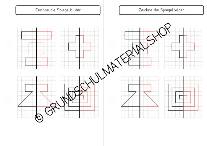 Materialpaket Symmetrie