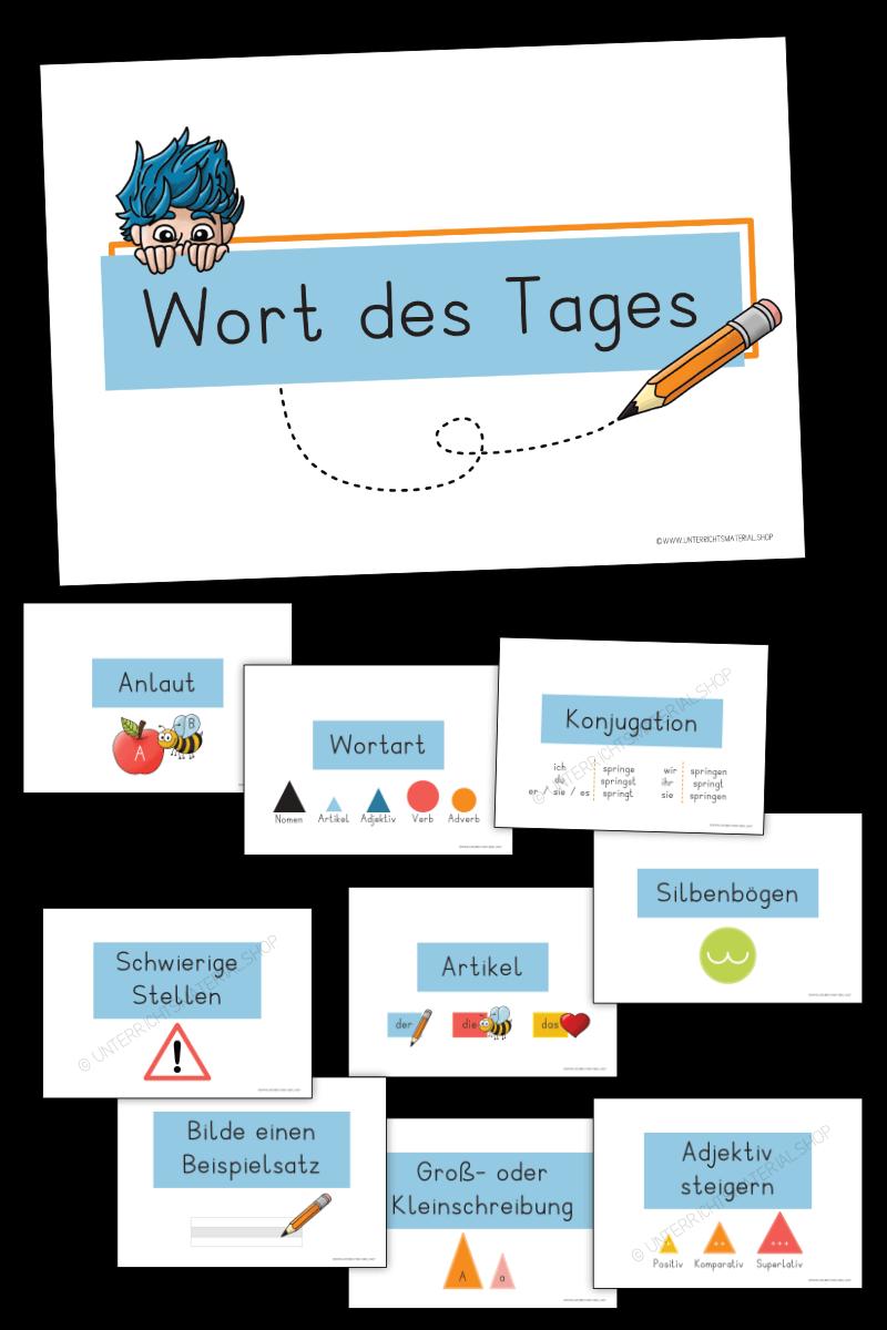 Wort des Tages Deutsch