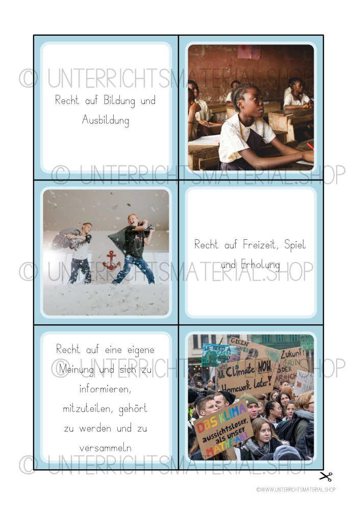 Kinderrechte Grundschule Unterrichtsentwurf