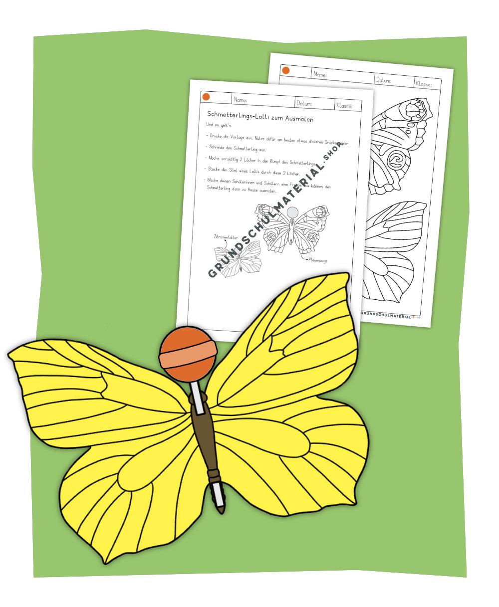 Schmetterlings-Lolli
