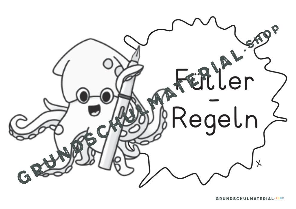 Füller-Regeln Tinti