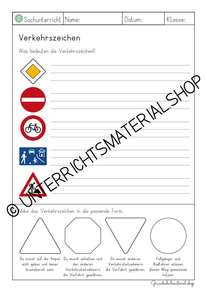 Materialpaket Verkehrserziehung