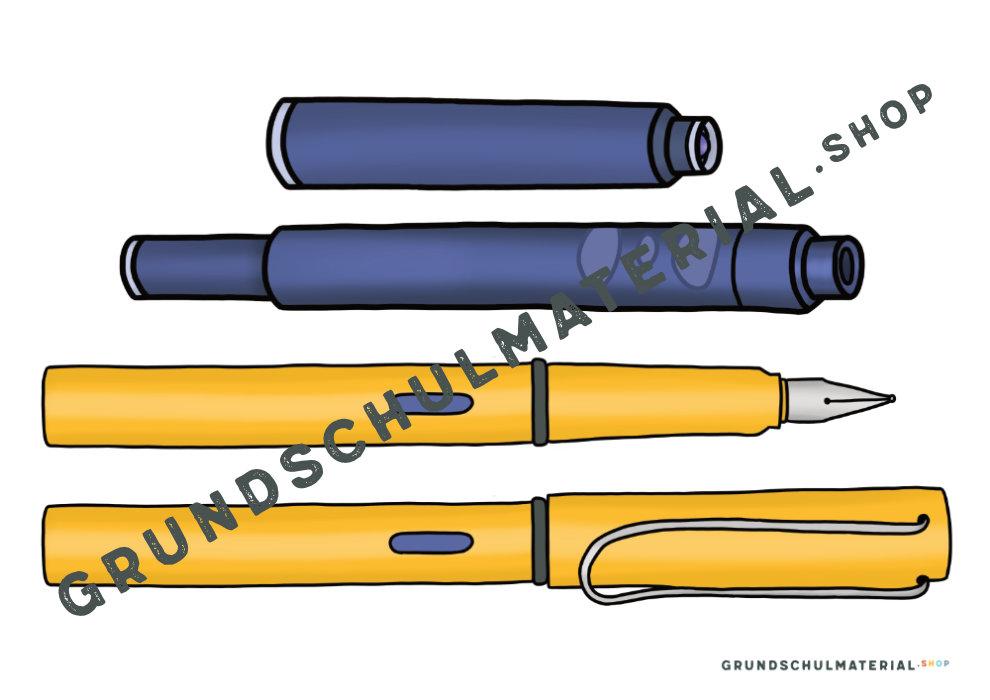 Teile des Füllers Grundschule