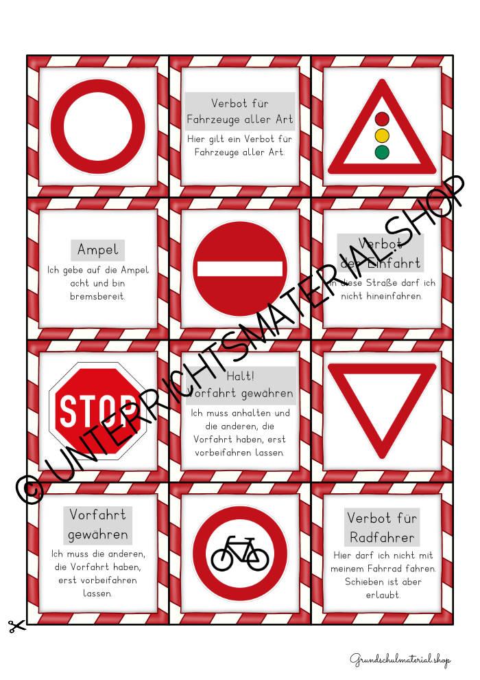 Verkehrszeichen Spiel