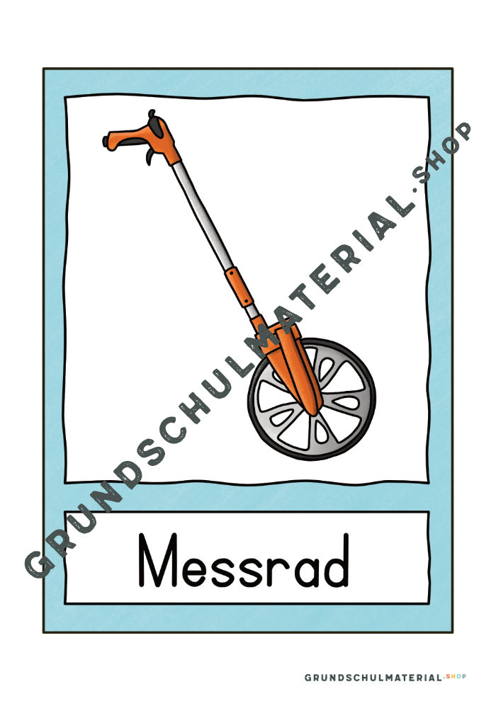 """Materialpaket """"Längen messen"""""""