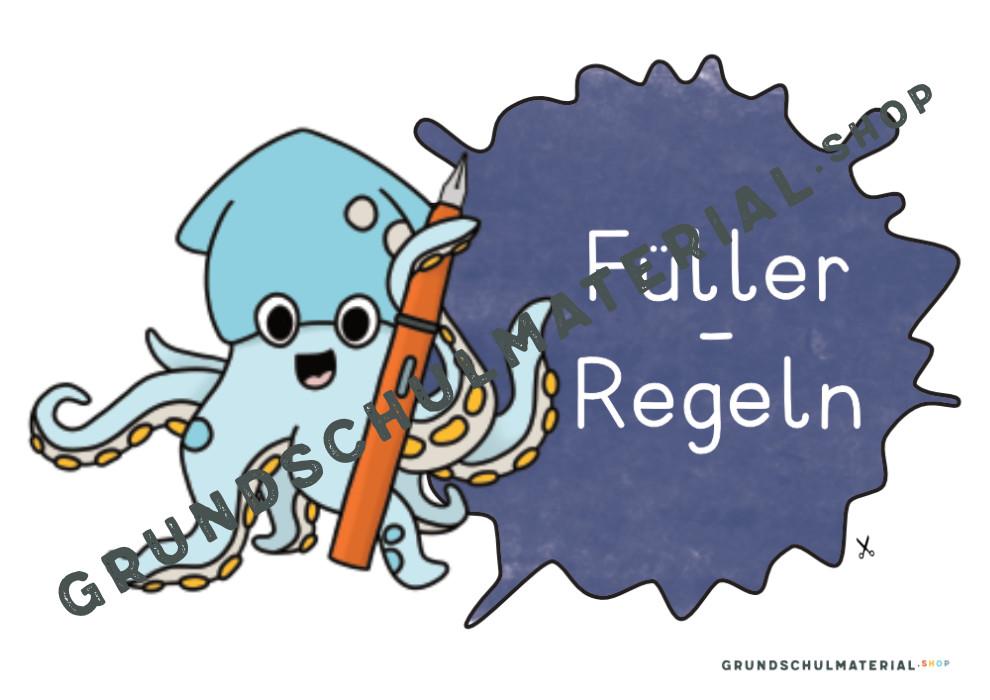 Füller Regeln Plakat
